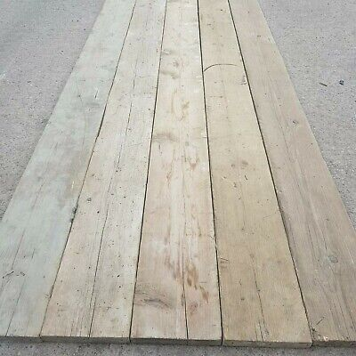 Norwegian Spruce Reclaimed Rustic Distressed Decking Boards 2FT X 8 1/2 X 1 3/8""
