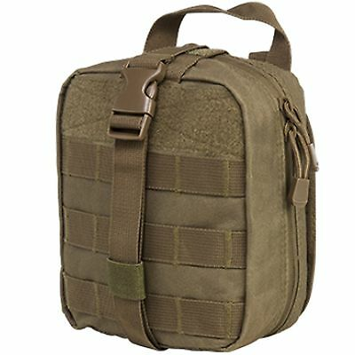 NcSTAR VISM Tactical Rip Away Hook-N-Loop EMT MOLLE Tan First Aid Utility Pouch