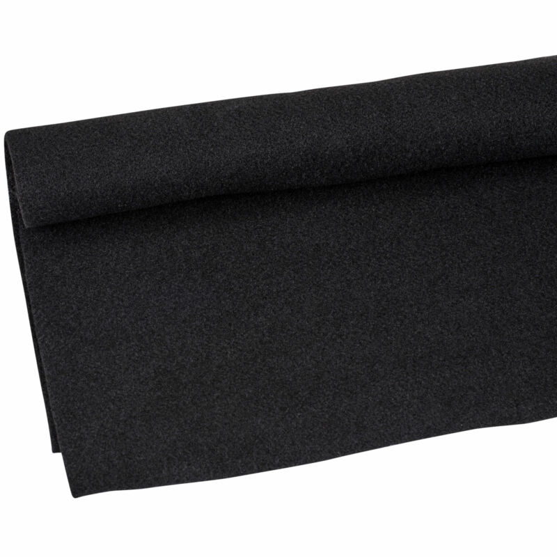 "1 Yard x 48"" Black Speaker DJ Box Sub Enclosure Cabinet Trunk Liner Carpet"