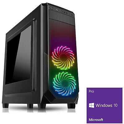 Computer Games - Mega Fast AMD Quad Core 4.2 PC Home Gaming Computer 8GB 1TB Windows 10 Vantage R