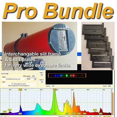 Light Spectrometer (UV & IR)  for USB-connection to Windows PC (Pro Bundle)