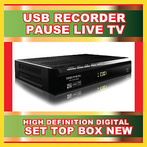 NEW DGTEC HD HIGH DEFINITION USB RECORDER DIGITAL SET TOP BOX DG-HD1609