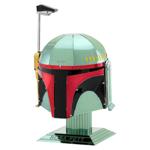 Metal Earth Star Wars Boba Fett Helmet Steel Model Kit NEW