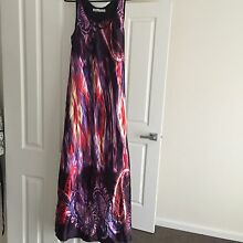 Silk material maxi dress Roxburgh Park Hume Area Preview