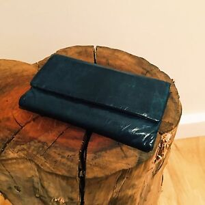 STATUS ANXIETY - great condition AUDREY wallet in Navy Palmyra Melville Area Preview