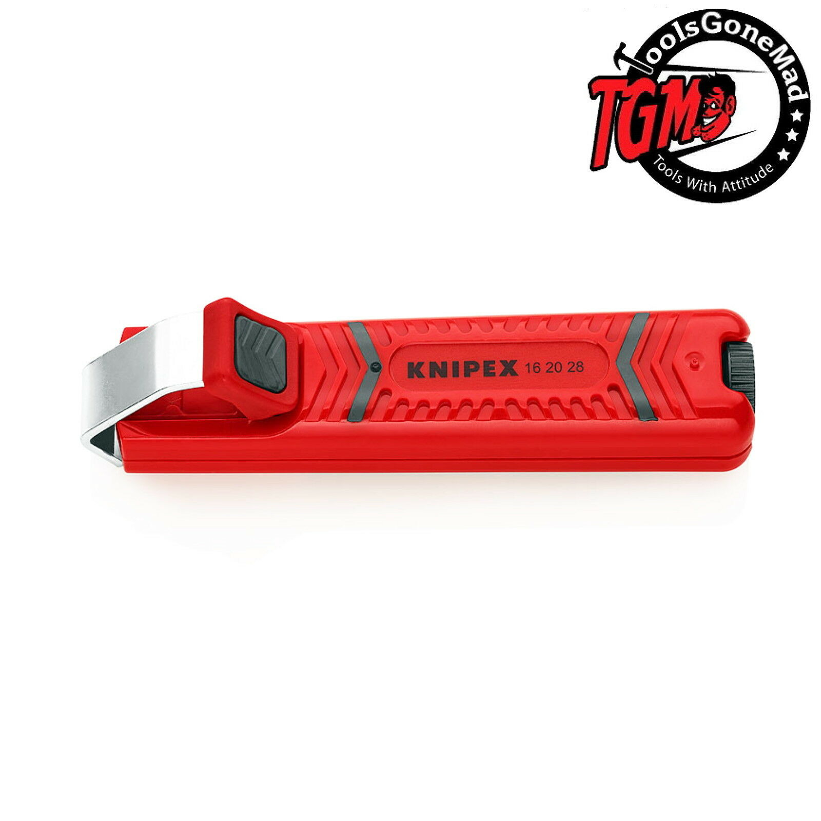 Knipex 16 60 05 SB Stripping Tool for coax cables in blister packaging