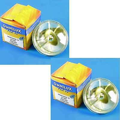 2x OMNILUX PAR36 6,4V / 30W PAR 36 halogen Pinspot PIN-SPOT Leuchtmittel OMNILUX Par 36 Pin Spot