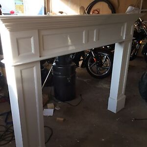 Fire place mantle 6 foot.