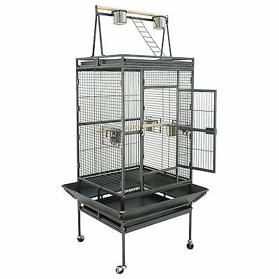 """68"""" Large Bird Parrot Open PlayTop Cage Cockatiel Macaw Conure Aviary Finch Cage"""