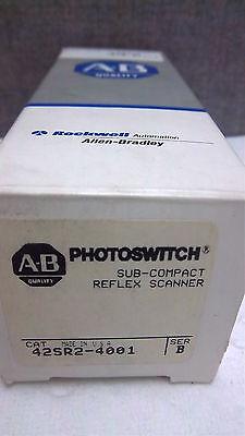 Allen Bradley Photoswitch 42sr2-4001 Ser. B New 42sr24001