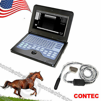 Us Portable Ultrasound Scanner Veterinary Pregnancy With 7.5 Mhz Rectal Probece