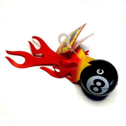 Burning 8 Ball Antenna Topper
