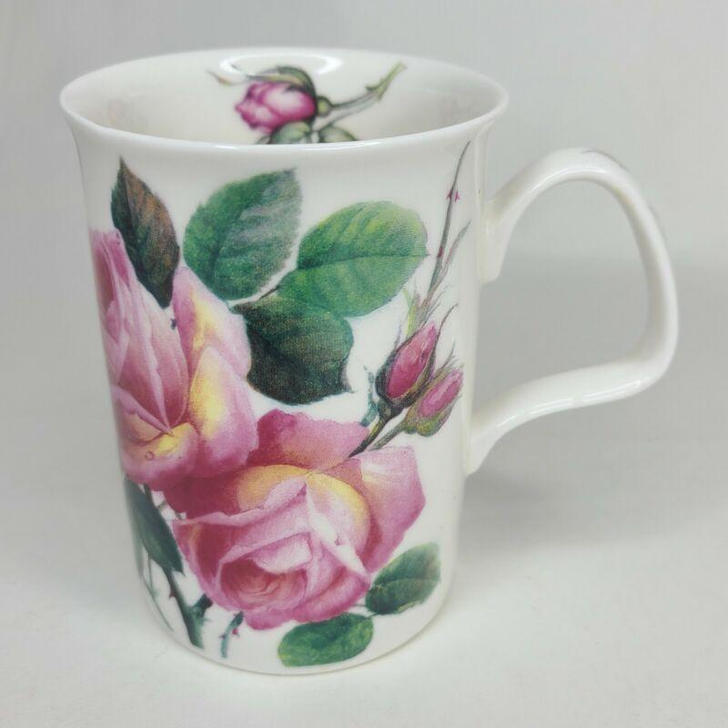 Roy Kirkham English Rose Fine Bone China Lucy Mug 1992 - Free Shipping!