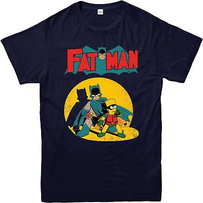 Batman T-Shirt,Fatman Batman Robin Spoof,Adult and kids Sizes](Kids Robin Shirt)