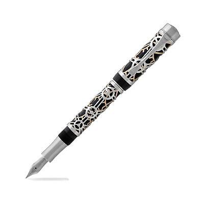 New Laban Galileo - Fountain Pen - Black - Medium Point - NEW - (GL-F100)
