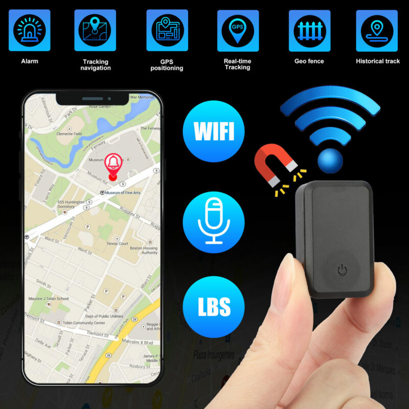 Magnetic Mini GPS Tracker Real Time Vehicles Car Truck Locator GSM GPRS Device