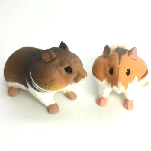 Choco Q Mini Figure Golden Hamster 2pcs Kaiyodo Japan choco egg