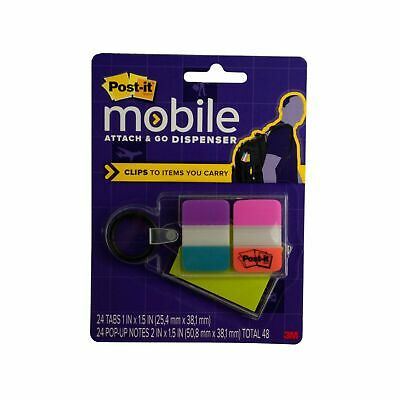 3m Post-it Brand Mobile Attach Go Clip On Dispenser Pm-kc1 Brand New