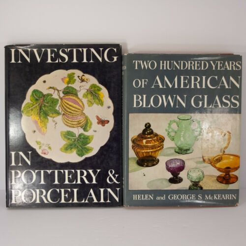 Two Hundred Years Of American Blown Glass Investing in Pottery & Porcelain Books