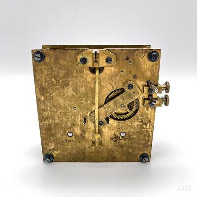 Antique Wanduhrwerk, Clockwork Brass Patent No. 61721 48ctm - Clock Movement