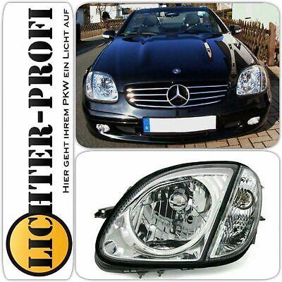 Mercedes Benz SLK R170 Scheinwerfer-Set chrom BJ 4/96 - 4/04, Neu mit Garantie!!
