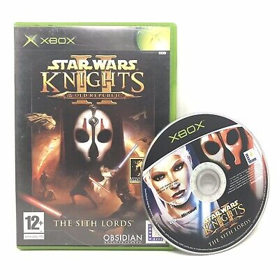 Star Wars: Knights of the Old Republic II - The Sith Lords (Xbox, 2004)