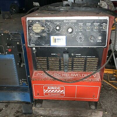 Airco 250 Amp Acdc Heliwelder V Square Wave Power Source-local Pick Up Only
