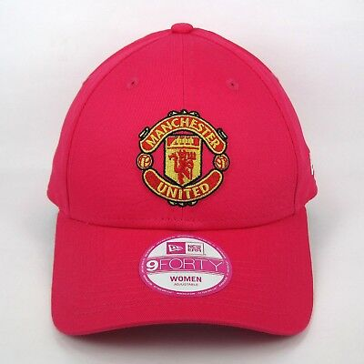 7b27a4bbe17c5 New Era Women s Manchester United Football Club Basic Pink 940 Adjustable  Cap