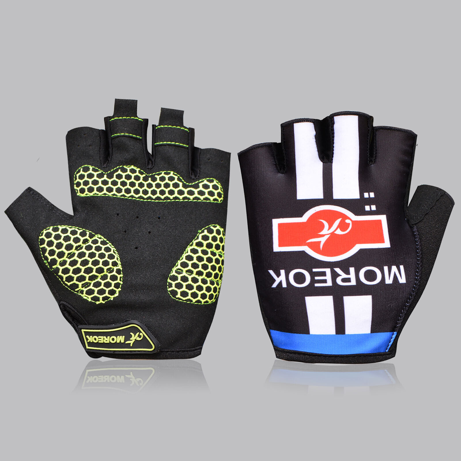 Cycling Half Finger Gloves Bicycle Mittens Racing Road Mount