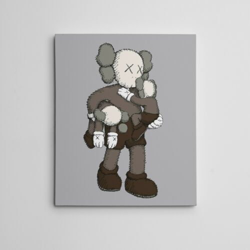 "16x20"" Art Canvas Kaws Companion Clean Slate NYC Brian Donnelly Contemporary Art"