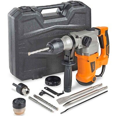 Vonhaus Rotary Impact Hammer Drill 10a Comes With Sds Drill Bits Extra Chuck
