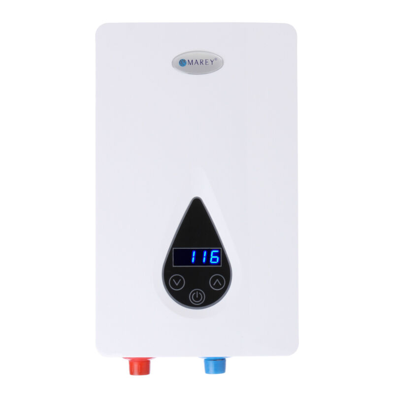 Marey Electric Tankless Water Heater, ECO110, 220V/240V. Fast, Free shipping!