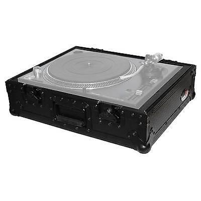 Pro-X T-TT-BL Black Universal Protective Transport DJ Turntable Case
