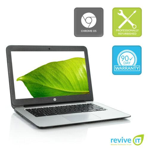 "HP Chromebook 14 G3 14"" CD570M-A1 2.1GHz 4GB RAM 16GB SSD HDMI Webcam Grade A"