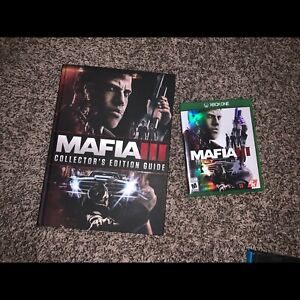 Xbox one Mafia 3 with guide