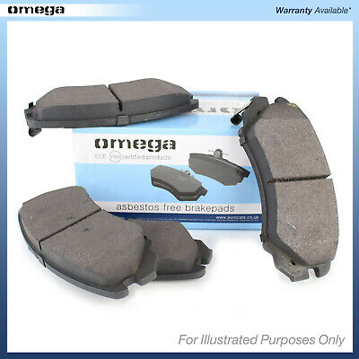 Omega Front/Rear Brake Pads Set BRP1448 - BRAND NEW - GENUINE - 1 YEAR WARRANTY