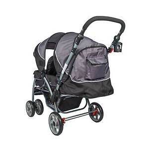 Brand New Tandem Baby Stroller Twin Baby Pram Baby Jogger Child Auburn Auburn Area Preview