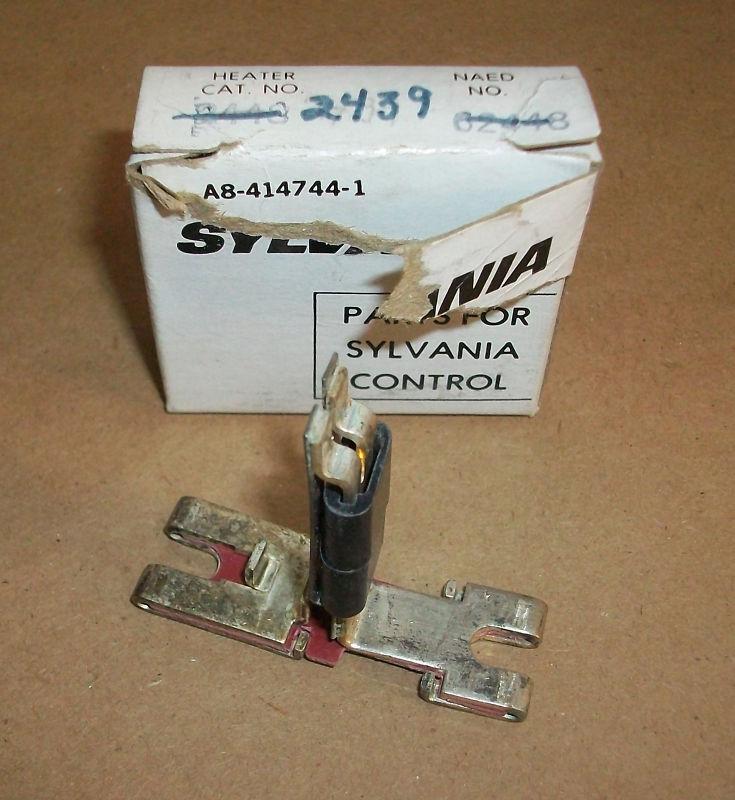 Sylvania Motor Starter Overload Heater 2439
