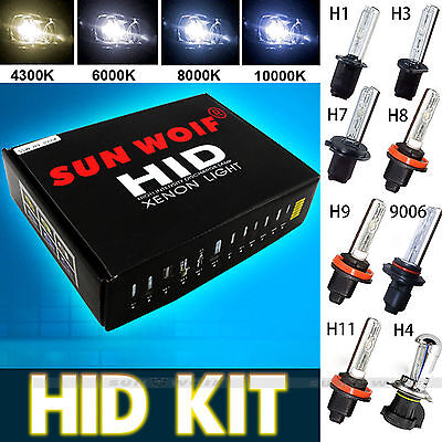 Hid H1 H3 H4-3 H7 H11 9006 HB4 Xenon Light Bulb Ballast Conversion Kit Headlight