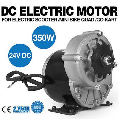 Watt Motor Gear Reduction Razor 24 Volt 350 Dirt Quad Scooter 24v 350w Us