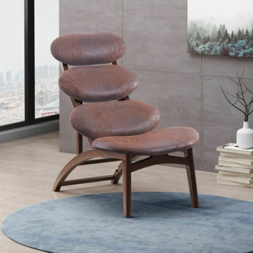 Aynslee Retro Reclining Microfiber Accent Chair Chairs