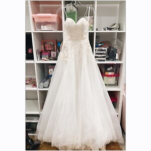 BHLDN - Guinevere Wedding Gown Size 4 — BNWT