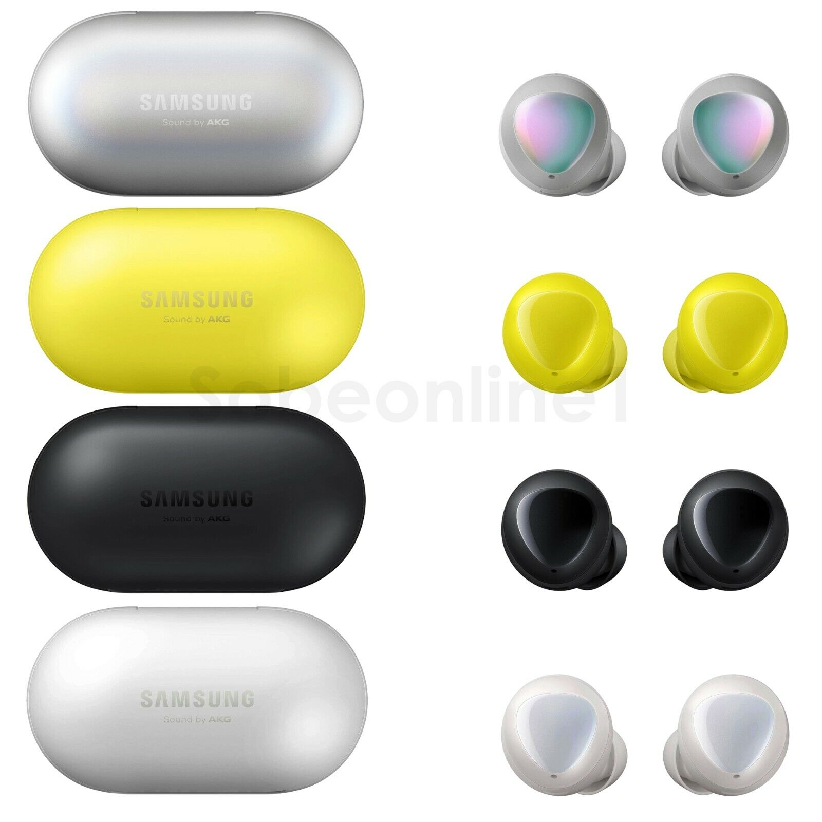 Soltekonline Samsung Galaxy Buds Sm R170 Bluetooth 5 0 Headset Black White Yellow Silver