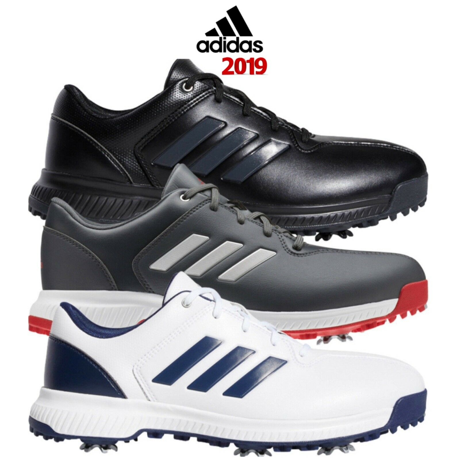 adidas Golf CP Traxion Mens Wide Fit