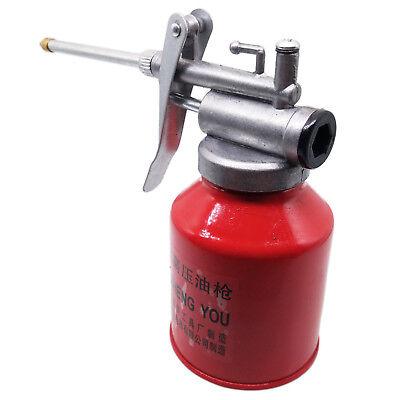 Us Stock 250ml High Pressure Pump Oiler Oil Can Gun For Lubricants