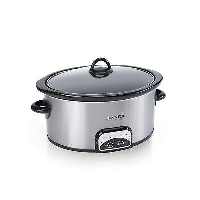 CrockPot Smart-Pot 6 Qt. Programmable Slow Cooker