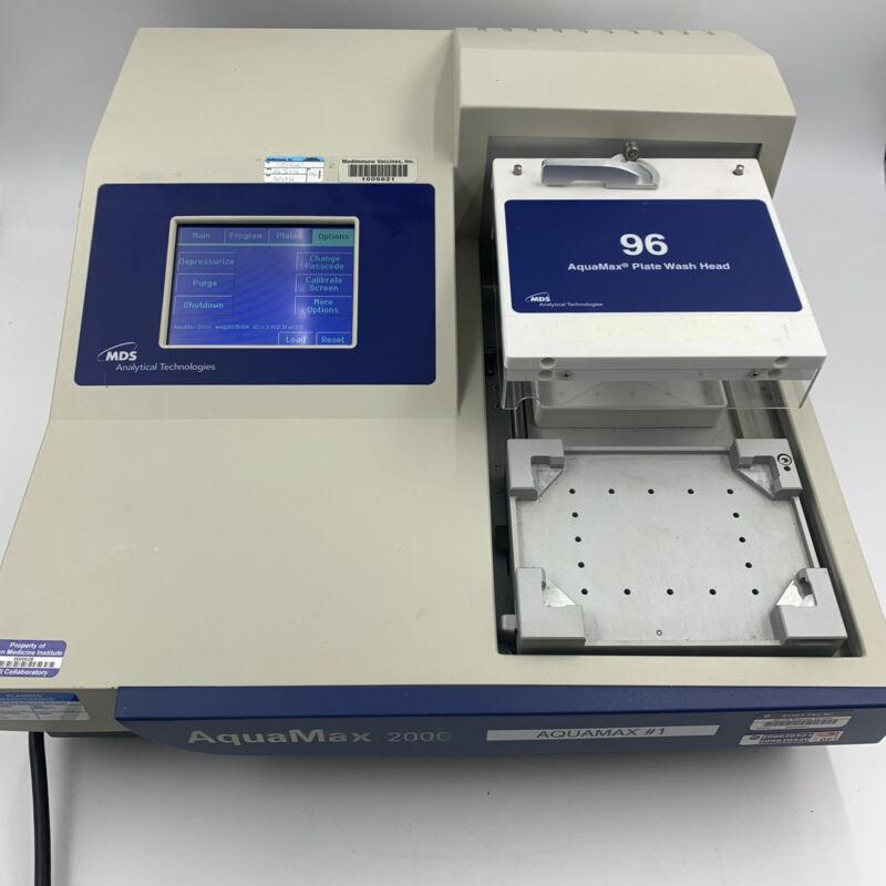 Molecular Devices AquaMax 2000 Microplate Washer with 96 Well Head AQ2K