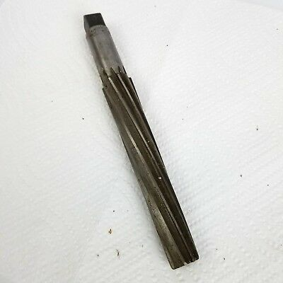 Morse Taper No. 8 Bs Reamer 10 Flutes Spiral 8 14 Oal 5 12 Loc Used