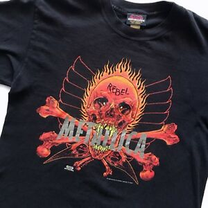 1997 vintage Metallica pushead tee shirt