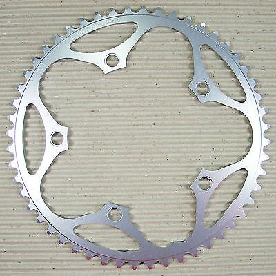 STRONGLIGHT Kettenblatt 52 Zähne 130 mm 5 Arm 9 + 10 fach Alu 5083 silber - 5 Blatt 52